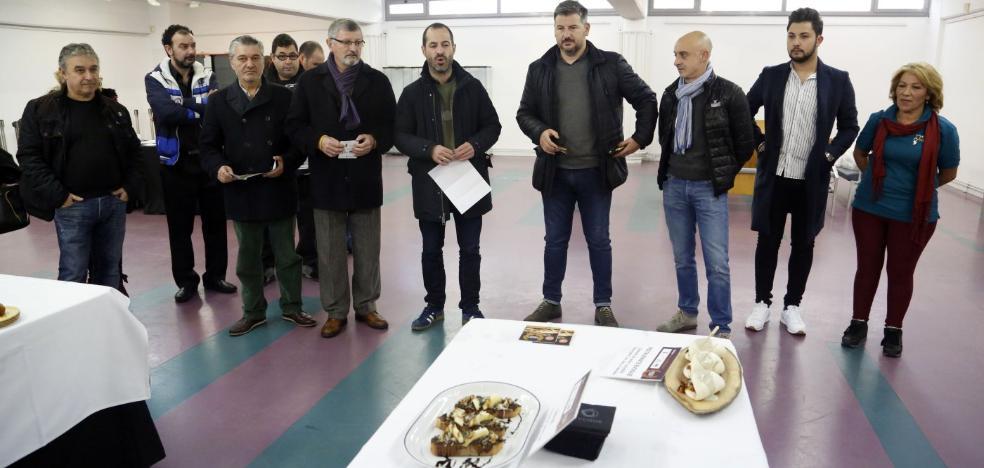 Diecisiete locales participan en el primer Campeonato de Pinchos de Lugones
