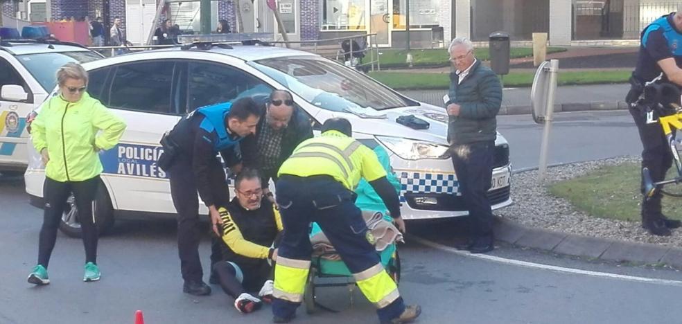 Atropello a un ciclista y colisión con una moto