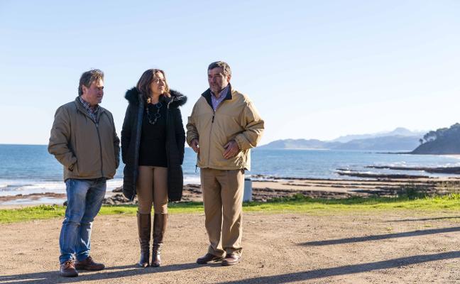 El PP reclama al Principado la cesión de terrenos en la senda de Lastres a La Griega
