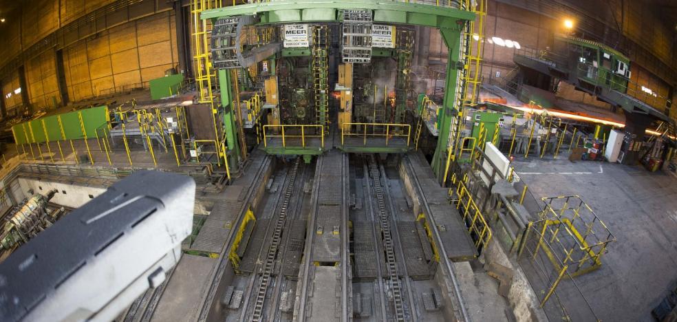 Arcelor prevé la recuperación del negocio de carril tras un largo parón en infraestructuras