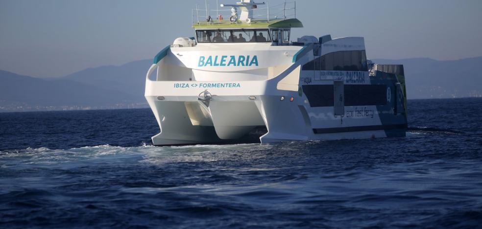 Gondán tiene ya listo el primer barco ecoeficiente de fibra para Balearia