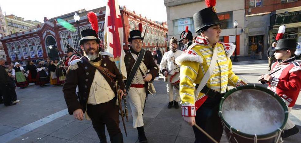Gijón abre sus jornadas de la 'Comida del Desembarco'