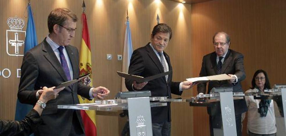 Asturias y otras doce regiones abren un frente en contra del «privilegio» del cupo vasco