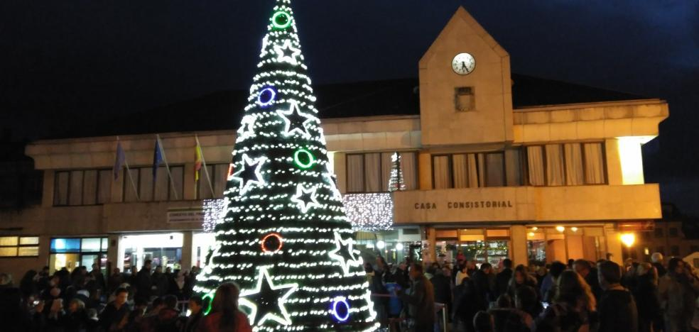 La Caridad se ilumina por Navidad