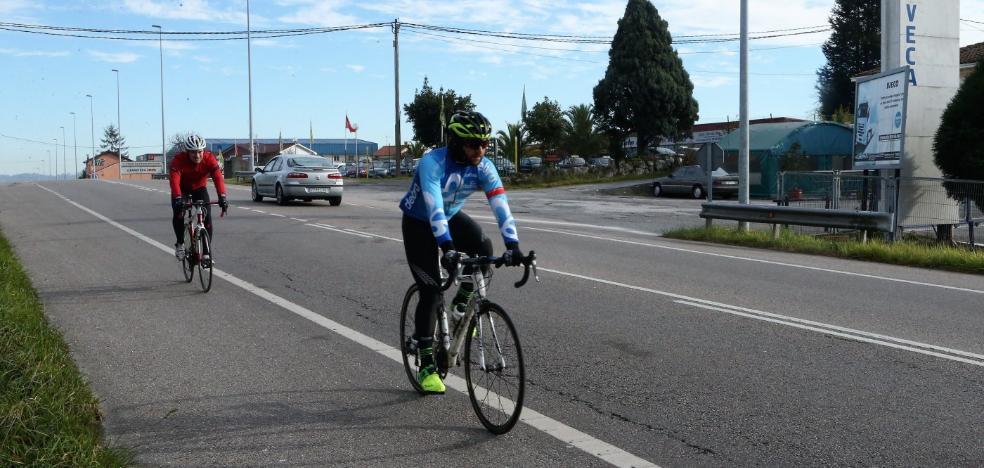 Siero demanda a Fomento que mejore la seguridad vial en la nacional 634