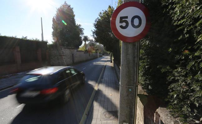 Los vecinos de Somió solicitan medidas para controlar la velocidad