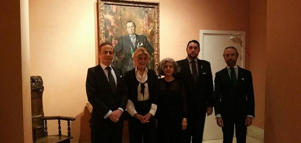 El Cuerpo de la Nobleza de Asturias entrega su Medalla de Honor a Carmen Thyssen