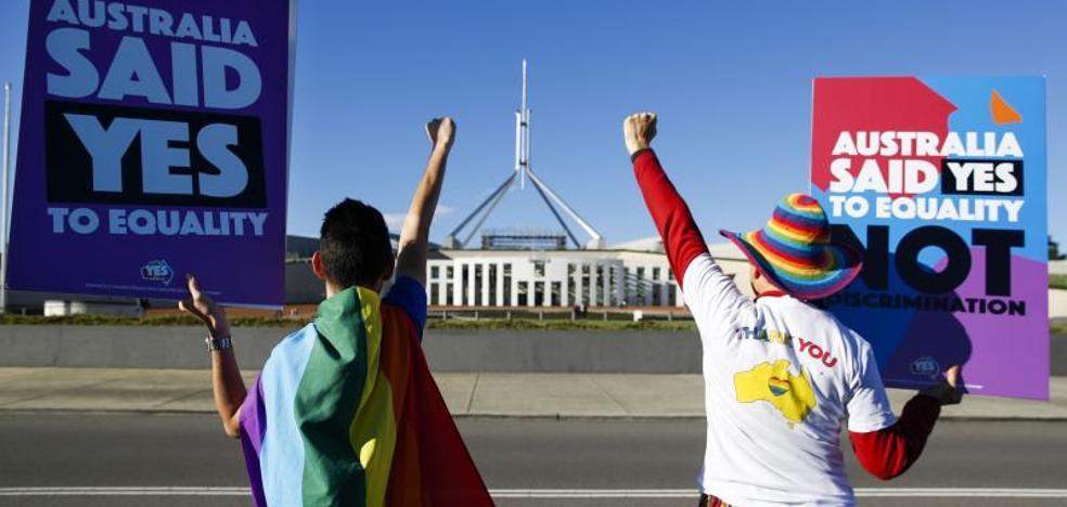 Australia aprueba la ley del matrimonio homosexual