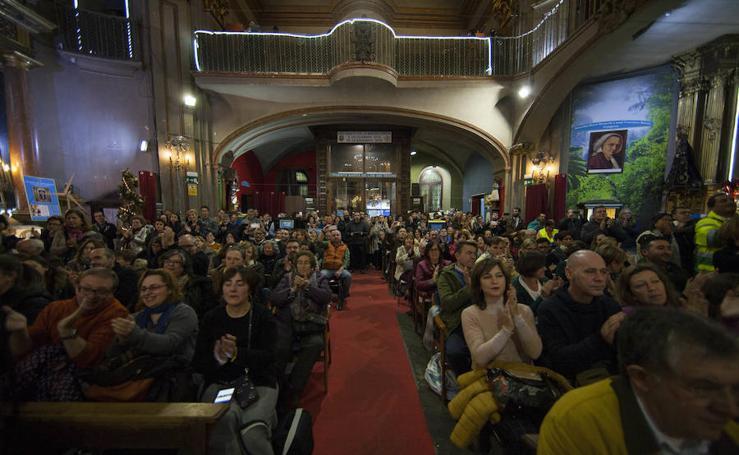 Concierto del coro Mensajeros de la Paz, en la Iglesia de San Antón