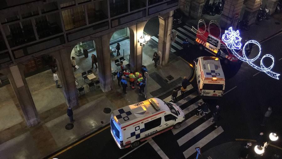 Dos personas arrolladas por un motorista
