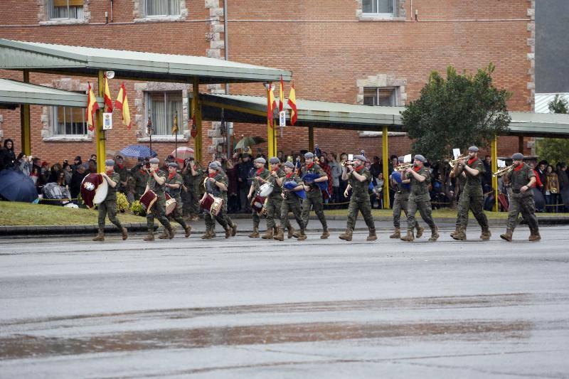 Parada militar por la Inmaculada