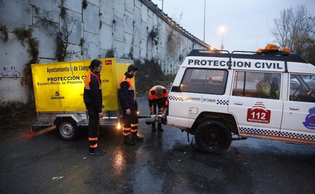 La búsqueda de Pilar Vigil en el río Nalón se aplazará hasta el lunes por el mal tiempo