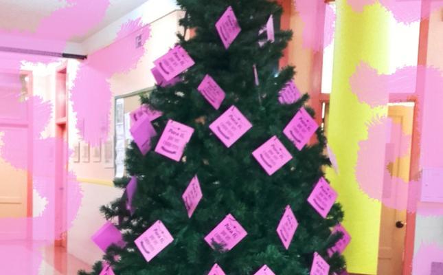 El AMPA del Instituto Número 5 idea un árbol solidario con el síndrome Rett