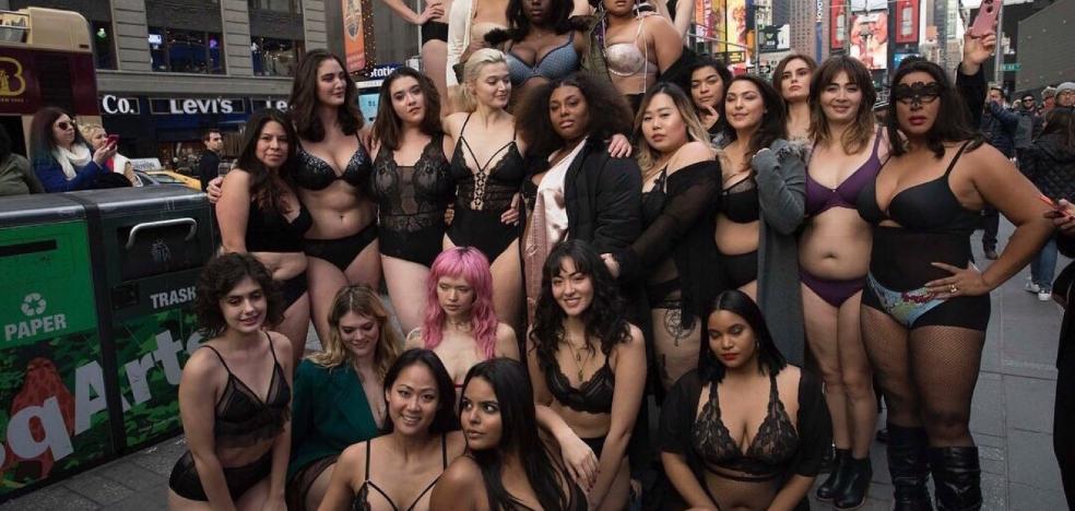Ángeles terrenales dan la réplica a los de Victoria's Secret en Nueva York