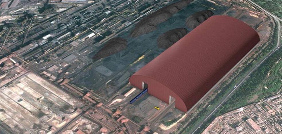Arcelor planea en Ilva dos naves del tamaño de 50 campos de fútbol para frenar la polución