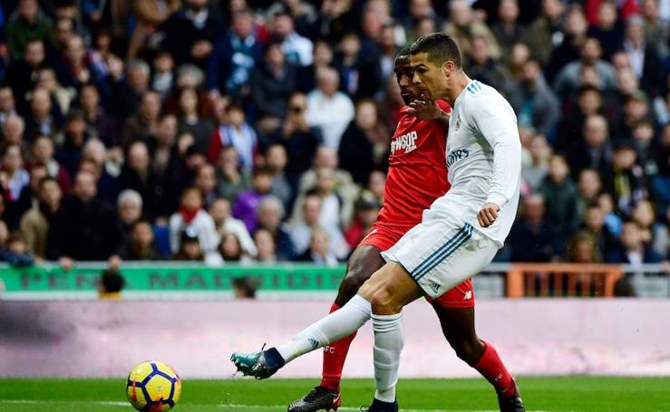Los mejores momentos del Real Madrid-Sevilla, en imágenes