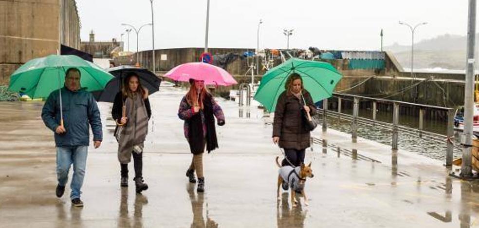 'Ana', la tormenta «histórica» que azotará el lunes la costa cantábrica