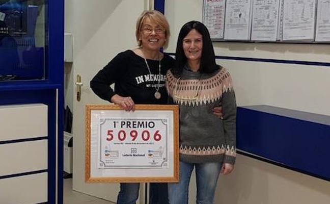 El primer premio de la Lotería Nacional deja dos millones de euros en Cangas de Onís