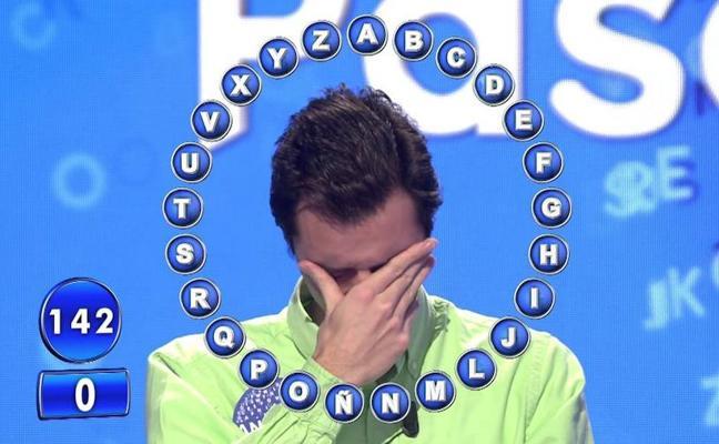 Un concursante de 'Pasapalabra' rompe a llorar al llegar al 'rosco'