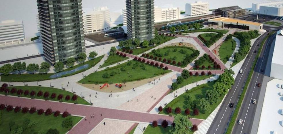 La oposición apoya el soterramiento, a expensas de saber su coste para Gijón