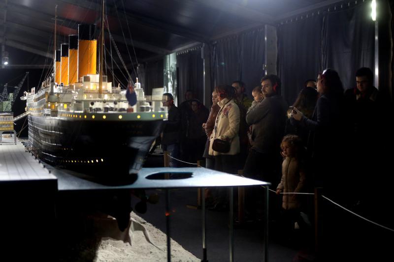 Gijón descubre los secretos del Titanic