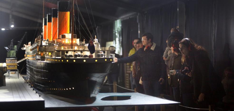 La muestra del 'Titanic' bate en Gijón el récord de asistencia de toda la gira