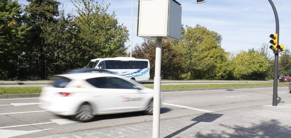 El 95% de las multas por velocidad, por circular entre 50 y 70 por hora