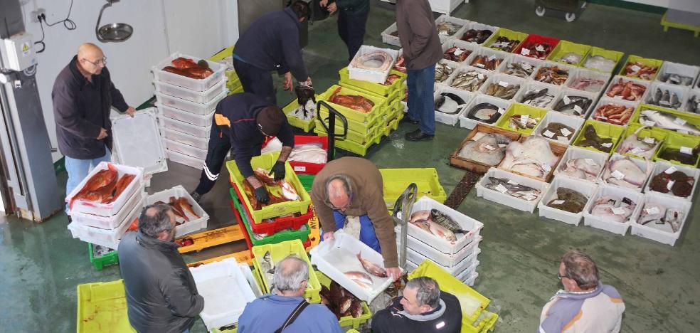 La cofradía de pescadores llanisca incrementó sus ventas en un 31,7%