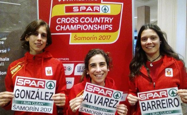 Tres asturianas en el Europeo de cross