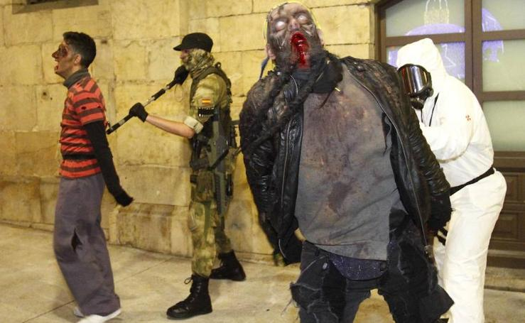 Los zombies invaden la noche avilesina