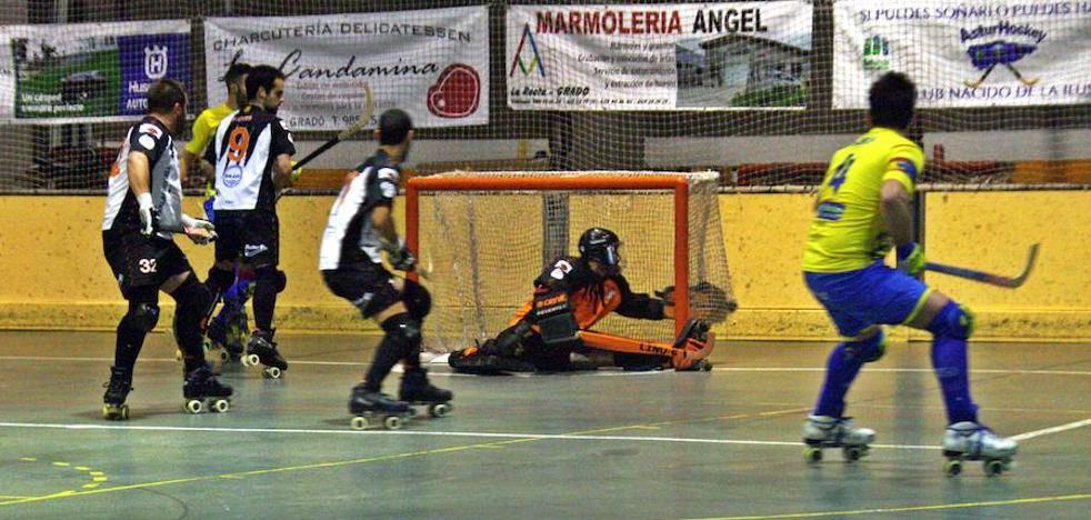 Al Asturhockey se le escapa un triunfo vital ante un rival directo