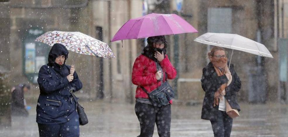 Una nevada en Londres obliga a cancelar vuelos con Asturias