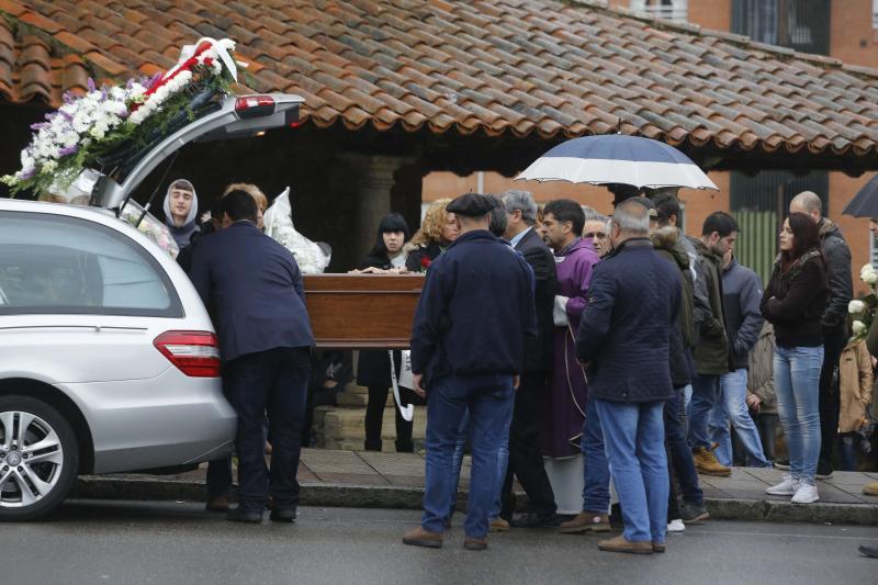 Último adiós a Iván Castro, el joven asesinado en La Felguera