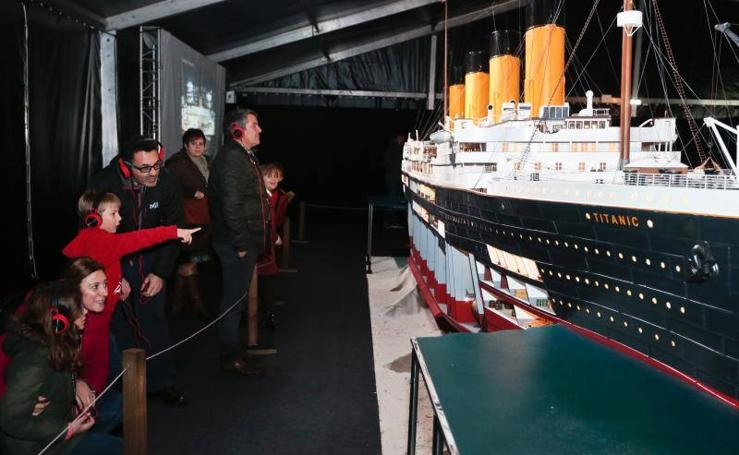Las historias del Titanic cautivan a los gijoneses