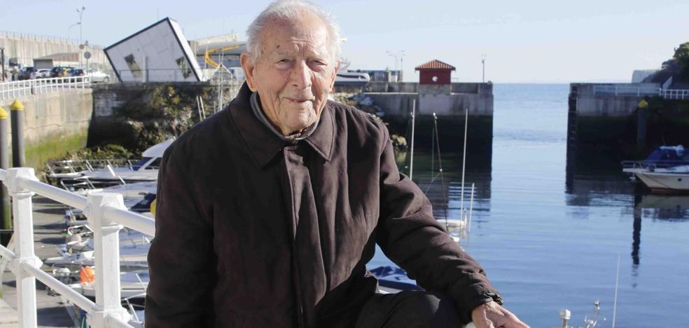Antonio Batalla 'Machi', de la mar al callejero de Llanes