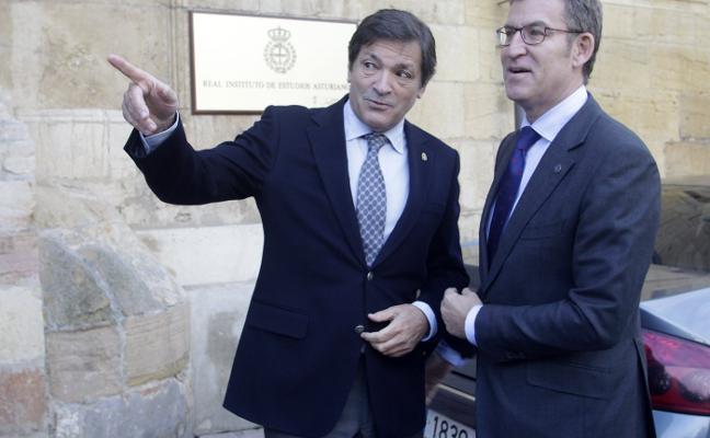 Asturias y Galicia exprimen su sintonía en financiación e infraestructuras