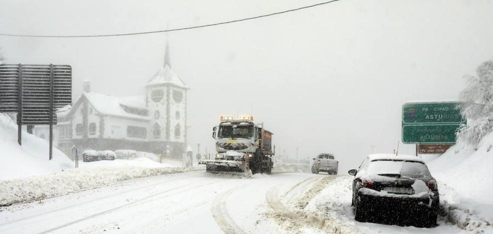 Asturias, en aviso amarillo por nieve