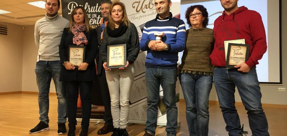 La sidrería La Villa se alza con el premio al pincho más popular de Navia