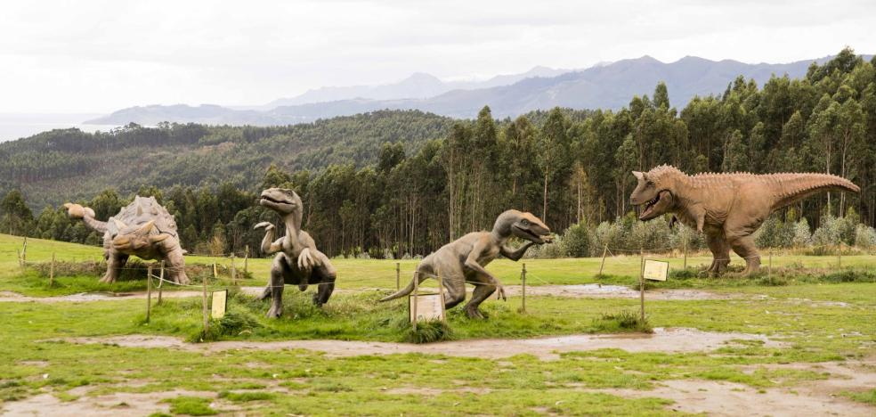 El Principado destinará 80.000 euros a la compra de dinosaurios para el Muja
