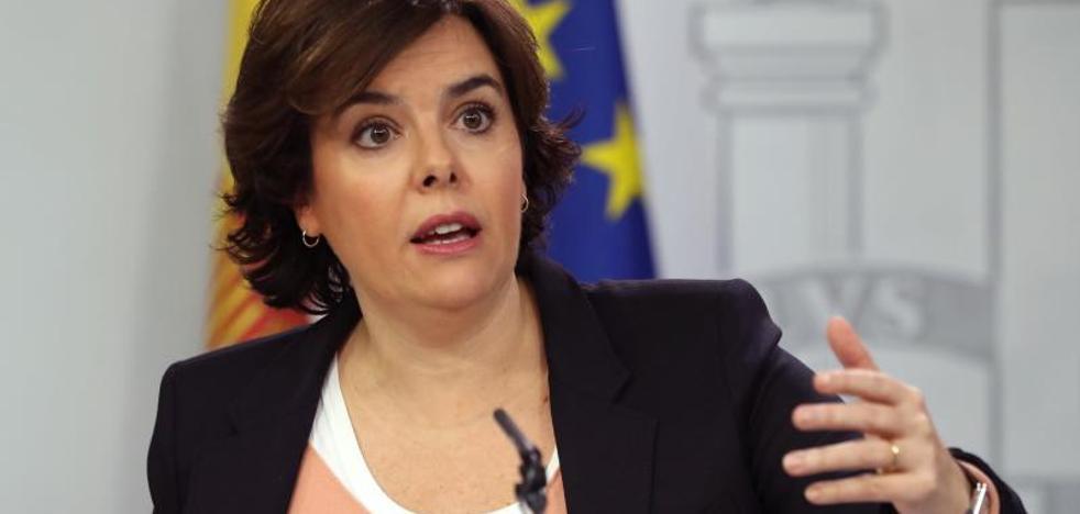 Santamaría plantea la «necesidad» de un nuevo modelo de financiación autonómica