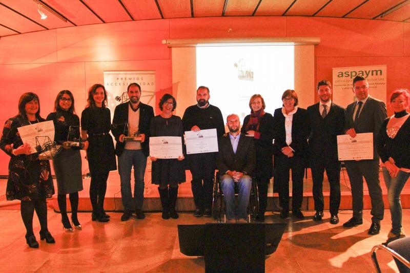 Pilar Varela preside la entrega de los premios de accesibilidad Aspaym