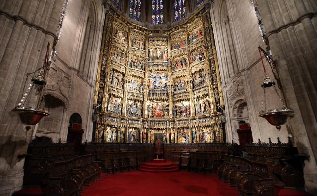 El retablo de la Catedral, al descubierto