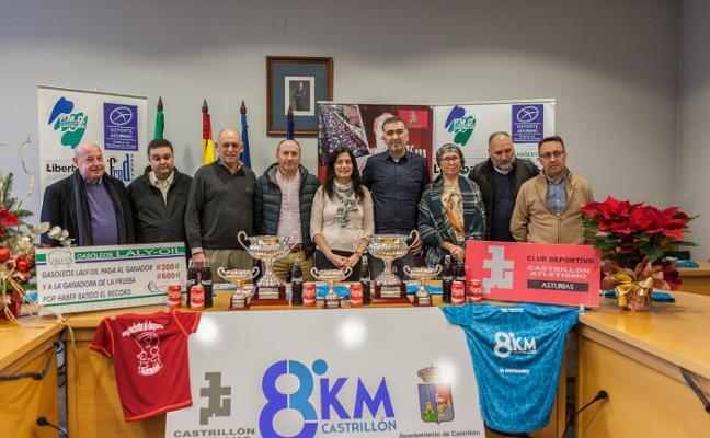 Presentada la 25 edición de los 8 km de Castrillón