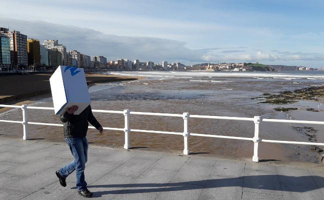 'Ana' desborda el Piles y se lleva un trozo de San Lorenzo