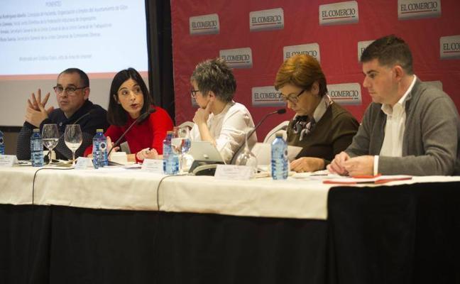 Patronal y sindicatos urgen a los grupos municipales a acordar un presupuesto para 2018