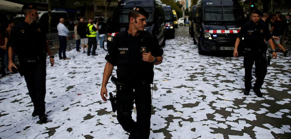 Los Mossos iban a quemar documentos sobre seguimientos a dirigentes del PP