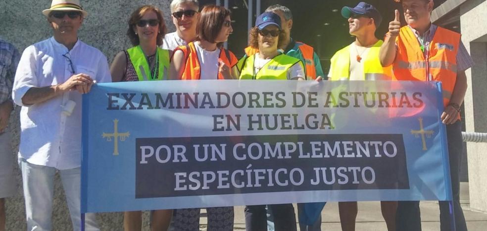 La huelga de examinadores de Tráfico se salda con 7.500 pruebas pendientes