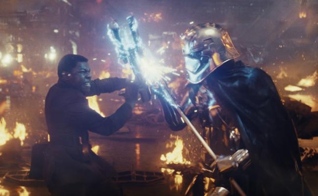 Llega la Navidad a los cines con 'Star Wars: Los últimos Jedi'