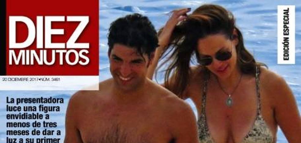 Eva y Cayetano, de vacaciones en la recta final del embarazo