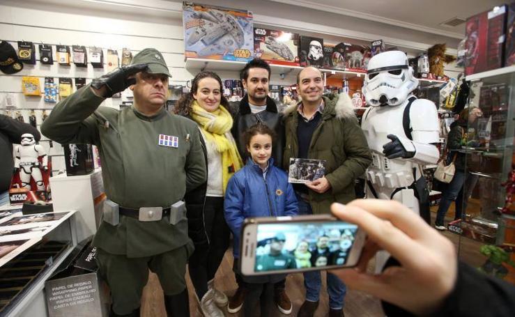 Asturias entregada a 'Star Wars'